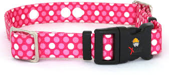 Amazon Com Replacement Receiver Collar Straps For All Brands Electric Dog Fences Pink Dot Petsafe Invisible Fence Sportdog More Up To 26 Neck Pet Supplies