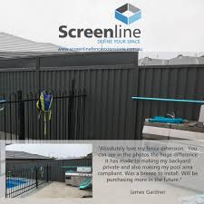 Screenline Fence Extensions Posts Facebook