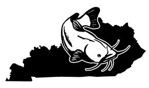 Kentucky Catfish Decal Sticker