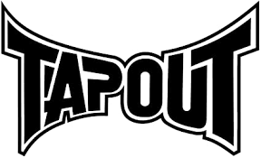 Amazon Com Tapout 4 To 24 One Color Vinyl Decal Sticker Sports Outdoors