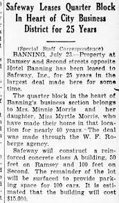 Mrs Minnie Lemon Morris and Miss Myrtle Morris Lease propterty 24 Jul 1937  - Newspapers.com