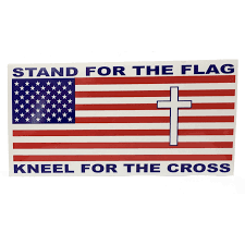 Stand For The Flag Sticker The Dixie Shop