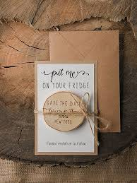save the date magnets 20 rustic wood