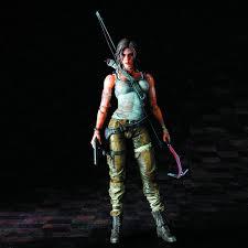 Tomb Raider Lara Croft Play Arts Kai Action Figure