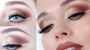 fall inspired eye makeup tutorial using