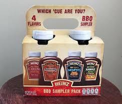 bnib heinz bbq sler pack 4 flavors
