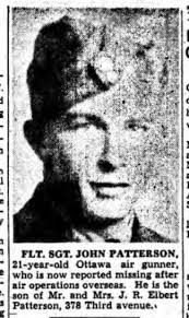John Richard Patterson - The Canadian Virtual War Memorial - Veterans  Affairs Canada