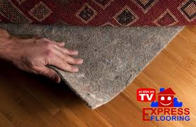 remove rug pad marks from flooring