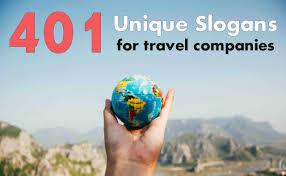 401 unique slogans for travel panies
