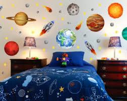 Space Kids Room Etsy