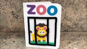 Tarjeta De Invitacion Tema Zoologico Youtube