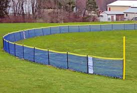 In Ground Fencing Kit For Baseball Softball Practice Sports