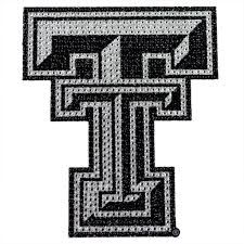 Texas Tech Red Raiders Bling Car Auto Emblem Adhesive Decal