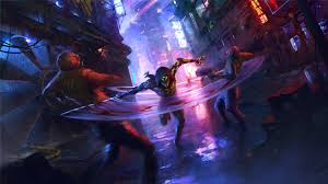 Cyberpunk, Ghostrunner, Sci Fi, Aaron Griffin Wallpaper