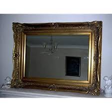 gold victorian antique style mirror