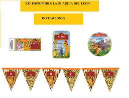 Kit Imprimible La Guardia Del Leon 2x1 Candy Bar 19 99 En