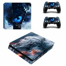 2020 Game Of Thrones Winter Is Coming Ps4 Slim Skin Sticker Decal For Playstation 4 Console And 2 Controller Skin Ps4 Slim Sticker From Qiananrain 20 27 Dhgate Com