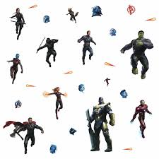 Avengers Endgame Peel And Stick Wall Decals
