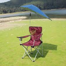 fishing chair portable folding sunshade