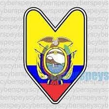 Ecuador Flag Jdm Design Car Vinyl Decals Stickers Ebay