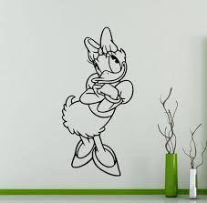 Daisy Duck Wall Sticker Cartoon Disney Vinyl Decal Home Kids Etsy