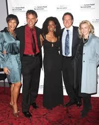 Allyson Tucker, Brian Stokes Mitchell. Audra McDonald, Kevin McCollum and Lynette  Perry-McCollum Photo (2009-10-27)