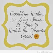 goodbye winter printable quote