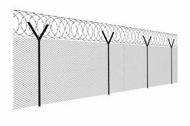 Barbed Wire Chain Link Barbed Wire Fence Clipart Transparent Png Download 94712 Vippng