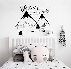 Adventure Wall Decal Mountain Wall Decal Nursery Wall Decal Etsy