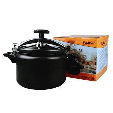 Nồi áp suất đun ga đáy từ FUJIKA sử dụng được cả trên bếp điện từ dung tích  từ 3L đến 11L-hàng chính hãng