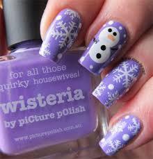 snowman nail art designs ideas trends