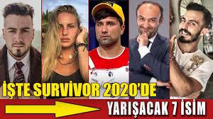 Survivor 2020 İçin Anlaşma Yapılan 7 İsim - YouTube