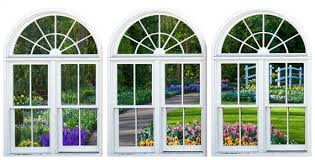 Faux Window Frame Photo Wall Decals Dutch Garden With Bridge Etsy