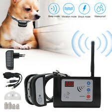 X 883 2 In 1 Intelligent Wireless Electronic Dog Fence System Training Collar For Sale Online Ebay