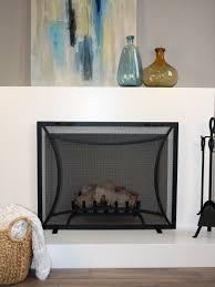 measure a fireplace screen