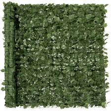 Best Choice Products 94x59in Artificial Faux Ivy Hedge Privacy Fence Screen For Outdoor Decor Garden Yard Green Walmart Com Walmart Com