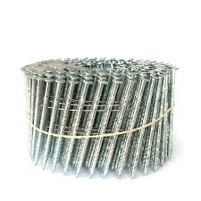 15 Degree Galvanized 2 1 2 Inch Coil Nails Kya Fasteners