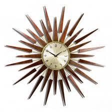 sunburst clock large wall clock