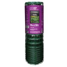 Reviews For Everbilt 2 3 Ft X 50 Ft Pvc Rabbit Guard Garden Fence Welded Wire 308376eb The Home Depot