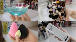 2 ways to clean makeup brushes