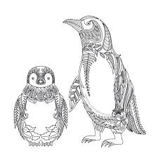 Pin Auf Kleurplaten Pinguins