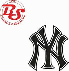 4 5 6 Ny New York Yankees Logo Vinyl Decal Sticker Mlb Baseball Nobs Ebay