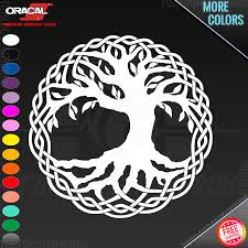 Celtic Tree Of Life Your Color Choice Laptop Car Truck Wall Vinyl Decal Sticker For Sale Online Ebay