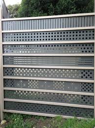 Steel Lattice For Colorbond Fencing Aud 25 00 Picclick Au Lattice Fence Steel Fence Steel