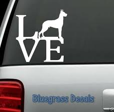 B1005 Great Dane Love Dog Decal Sticker Car Truck Suv Van Laptop Collar Puppy For Sale Online Ebay
