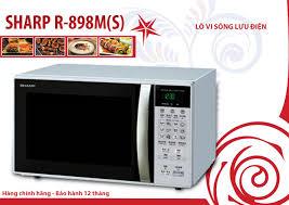 Lò vi sóng lưu nhiệt R-898M(S)