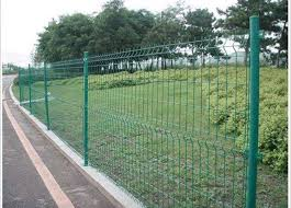 pvc coated steel wire fencing