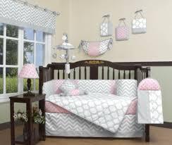 beddengoed voor baby s pink gray