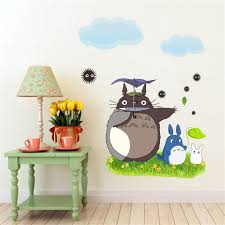 Eways Cartoon Games Theme Wall Sticker Totoro Wall Sticker 9 Style And 2 Size Room Deorated Tools Akolzol Com