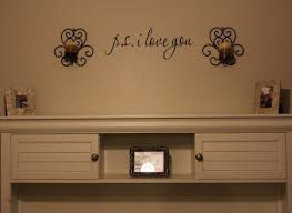 P S I Love You Wall Decal For 3 42 Shipped See Mom Click
